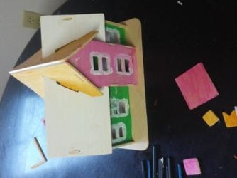 Make-a-House $10 Rainy Day Project