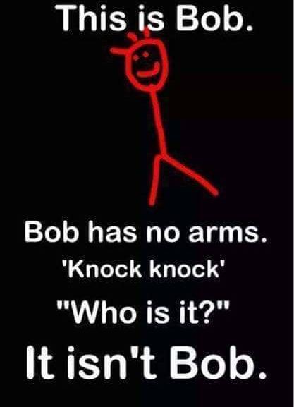 Knock Knock, It's Bob