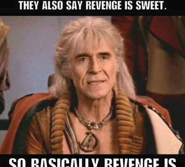 Revenge Is Ice Cream