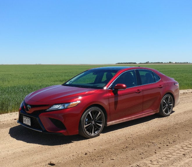 2018 Toyota Camry is Redesigned and Family Sized