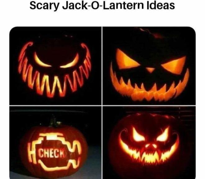 Scary Jack-o-Lanterns