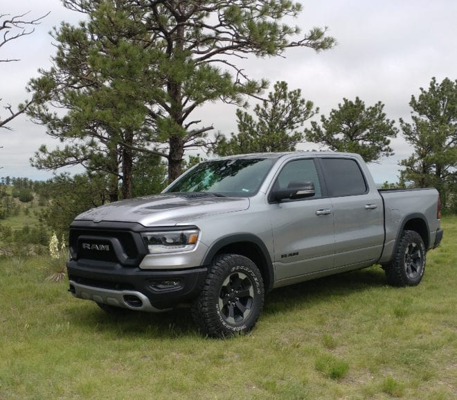 2019 Ram 1500 Rebel Brings the Godness of a Pickup To the Dirt