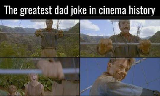 Greatest Cinematic Dad Joke Ever
